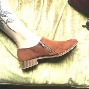 American Eagle Faux Suede Loafer/Booties
